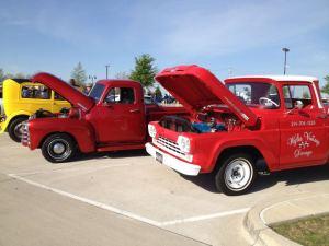 Parking Lot Car Show