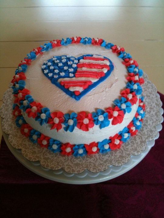Cake Decorating Ideas For Labor Day : Labor Day Holiday Cake Ideas and Designs